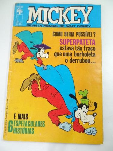 antigo gibi do mickey anos 70!!!