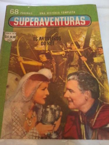 antigo gibi superaventuras n°14 - os arqueiros do rei