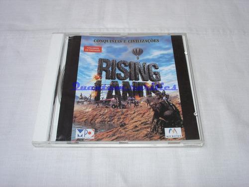 antigo jogo cdrom rising lands mpo em port - usado s/ manual