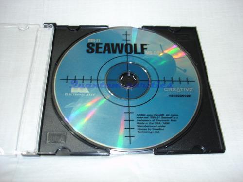 antigo jogo cdrom seawolf ea 1994 - usado s/ caixa