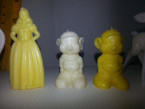 antigo lote contendo 11unidades- mini personagens da disney