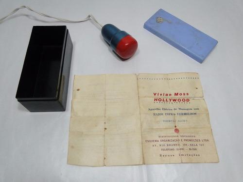 antigo massageador alemão vivian moss hollywood com manual