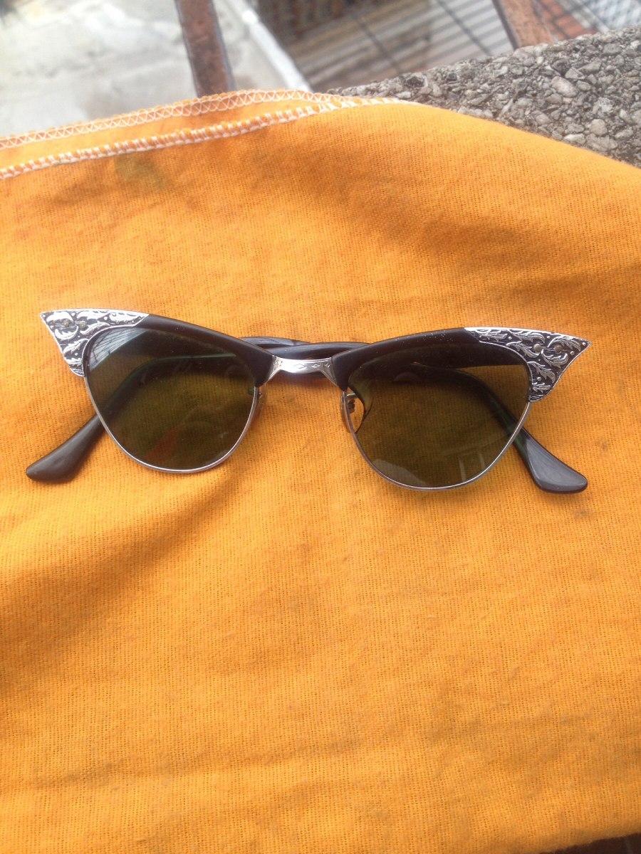 1a943efa8 Antigo Óculos De Sol Vintage Olho De Gato Americano Usa - R$ 350,00 ...