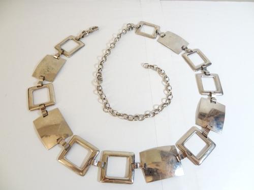 antigo pop colar de jacarandá anos 60!!! design pago rabane