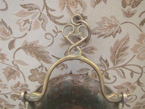 antigo porta agua benta sacro , com aspergidor #779