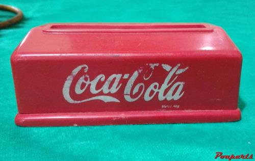 antigo porta guardanapo coca cola