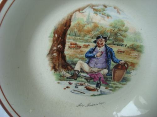 antigo pratinho para decoração ingles
