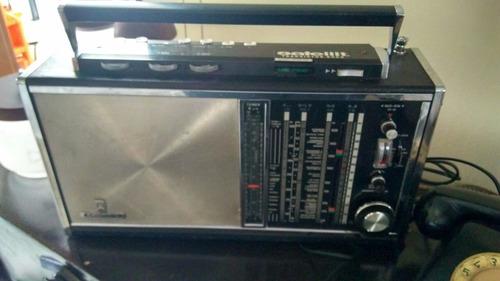 antigo rádio alemão marca grundig 4 faixas transistor 6000