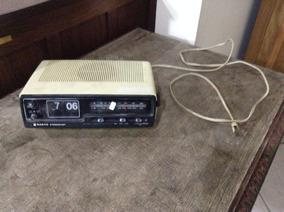 Antigo Radio Relógio Sanyo Stereocast !! Vintage !!