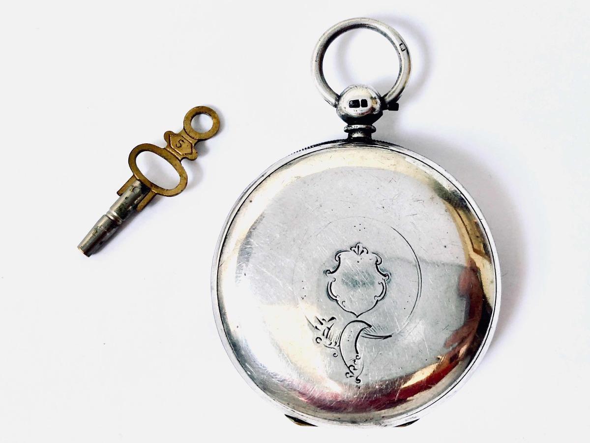 521d016551b Antigo Raro Relógio De Bolso Inglês Verge Fusee Século 18 19 - R ...