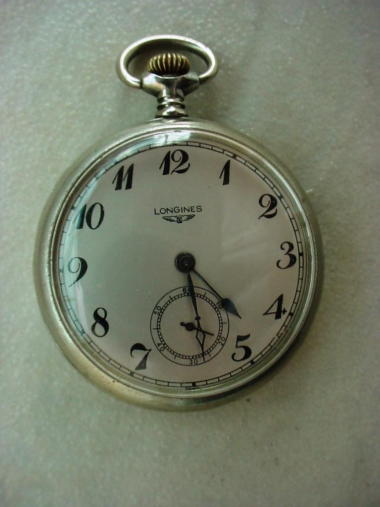 3f49f9f2da7 Antigo Relógio De Bolso Corda Marca Longines Ano 1940 !!! - R  330 ...