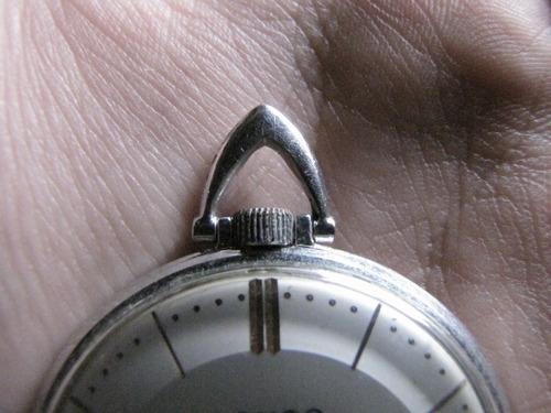 antigo relógio de bolso suíco feminino lanco 15 jewels #1264