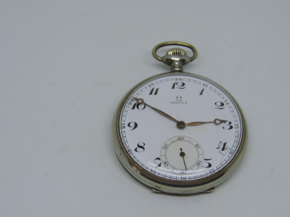 8f82a3d6dc2 antigo relógio de bolso suiço marca ômega. Carregando zoom.