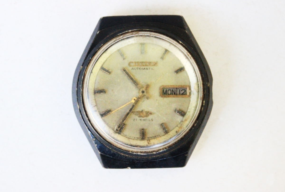 ed7930e5786 antigo relógio de pulso citizen 21 jewels - no estado. Carregando zoom.