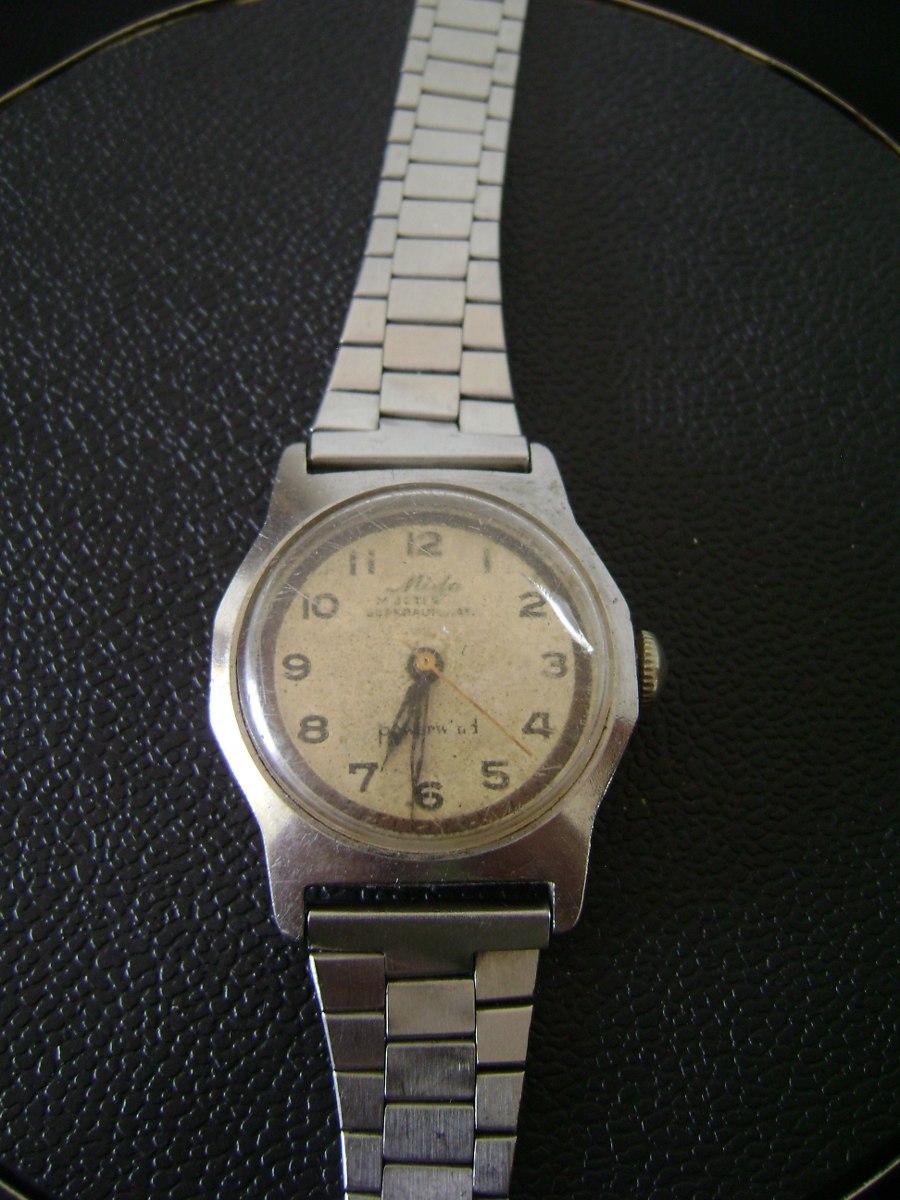 dff33a91d50 antigo relógio de pulso feminino mido multifort. Carregando zoom.