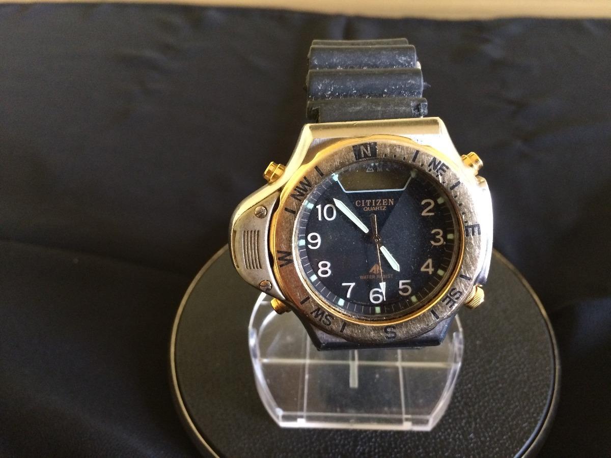 f85d89ab63e antigo relógio de pulso masculino citizen watch co. Carregando zoom.