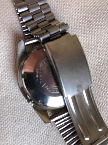 antigo relógio de pulso seiko 5 - japan