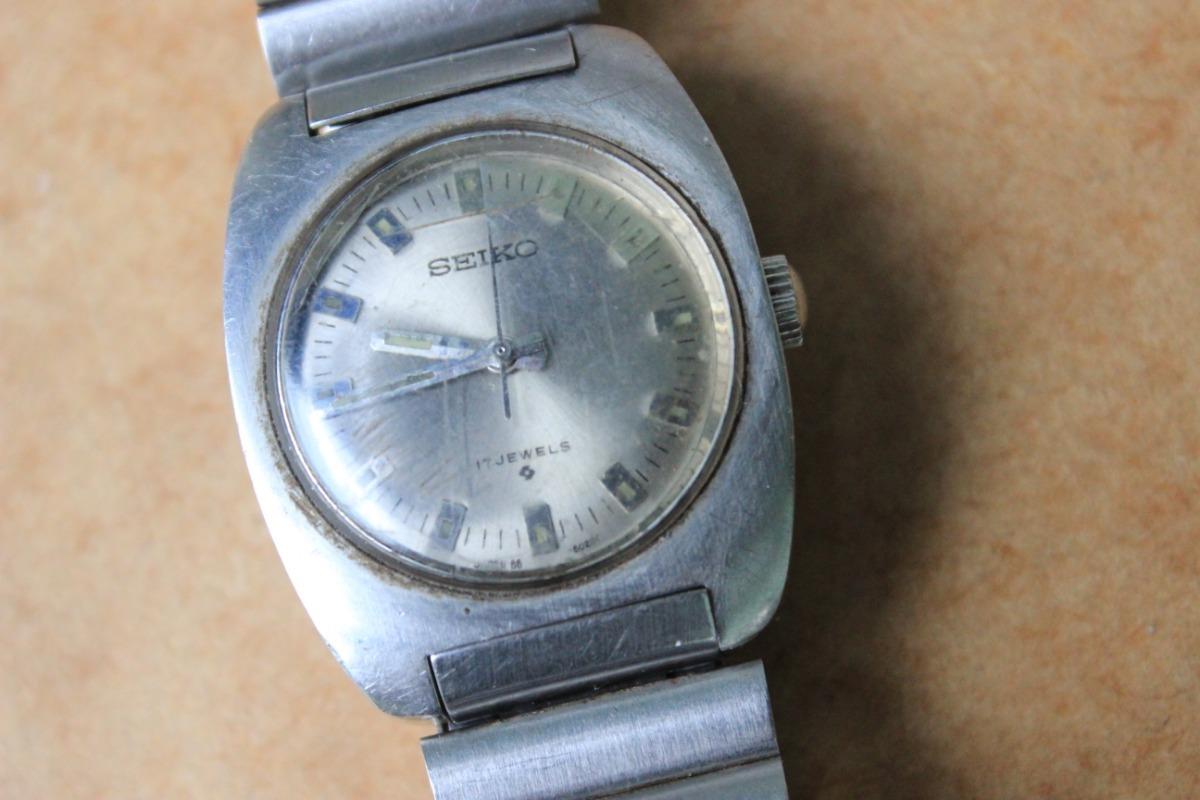 4cdb31f4370 antigo relógio de pulso seiko 66 6000 a corda 17 jewels. Carregando zoom.