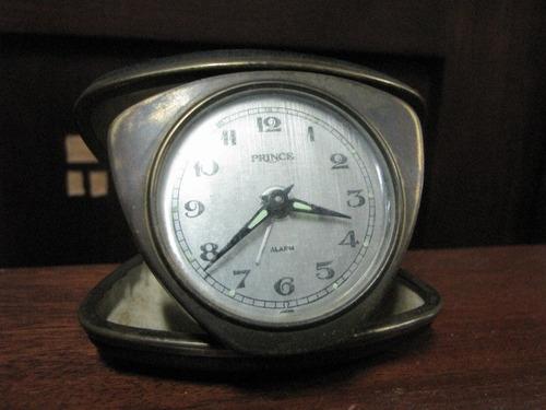 antigo relógio despertador japan prince #1546