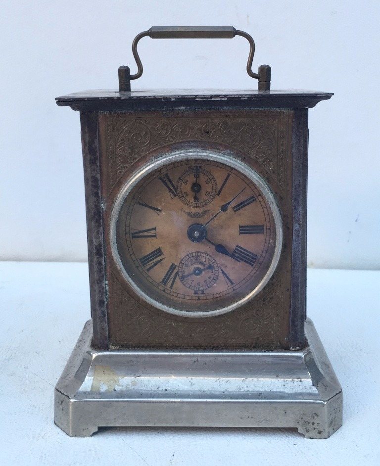 572185deec6 antigo relógio despertador junghans de mesa a corda. Carregando zoom.
