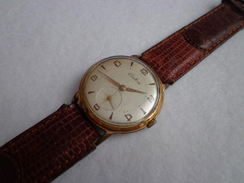 9b7b1d3d708 antigo relógio eska à corda. Carregando zoom.