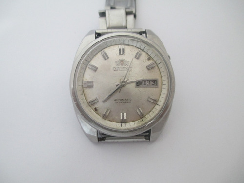 antigo relógio orient - automático - em funcionamento