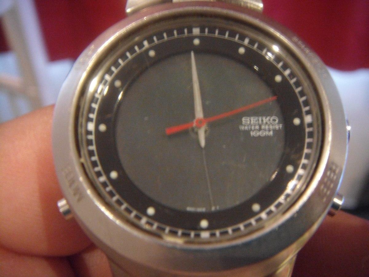 645292bdb80 Antigo Relogio Seiko Para Restauro Nao Funciona - R  100