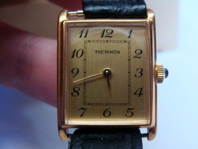 d59e158af81 Antigo Relógio Technos Fem. Corda - Novo