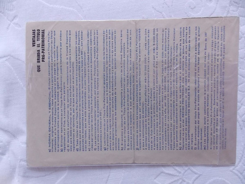 antigo título de sócio patrimonial do c.a.boca juniors