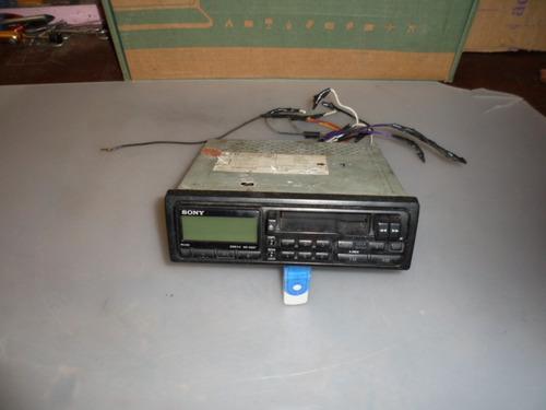 antigo toca fita sony am e fm 35w fusiona o radio bom