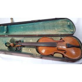 Antigo Violino Aristides Vicentini 1948 Com Estojo Original
