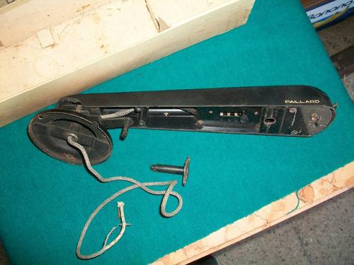 antigu brazo paillard en caja para tocadisco