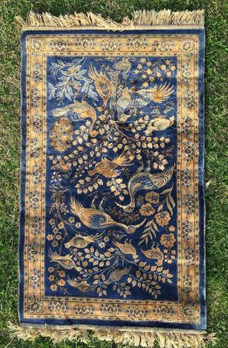 antigua alfombra coleccion carpeta vintage 1