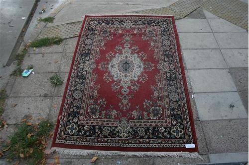 antigua alfombra de lana 2.50 x 1.60 | el_kin