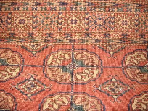 antigua alfombra persa - ardebil - diseño bukara