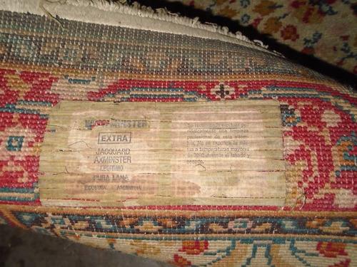 antigua alfombra pura lana 1.95x1.10