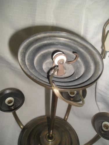 antigua araña bronce