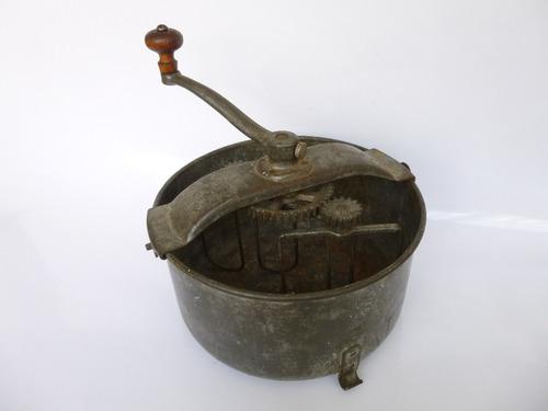 antigua batidora de tazón, patentado 1905