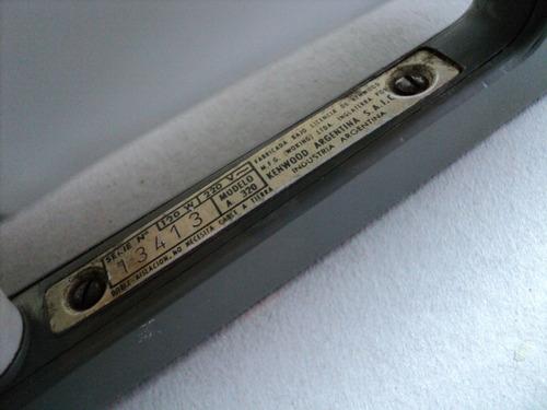 antigua batidora kenwood minor