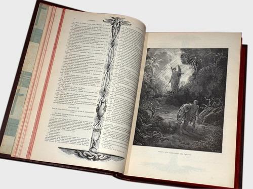 antigua biblia impresa en mexico en 1953 ilustrada por doré