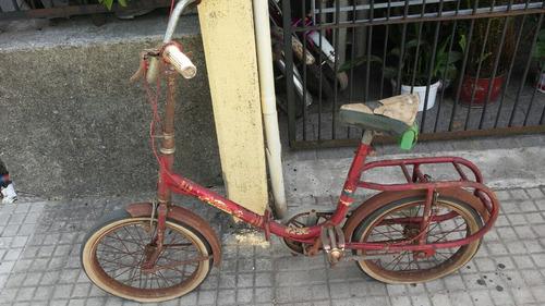 antigua bicicleta broadway unica de colección