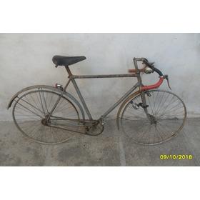 Antigua Bicicleta Carrera Con Luz Dinamo Llave A Restaurar