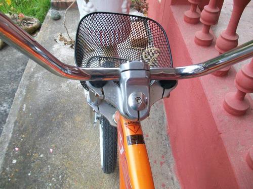 antigua bicicleta clásica grande, micargi, perfecto estado