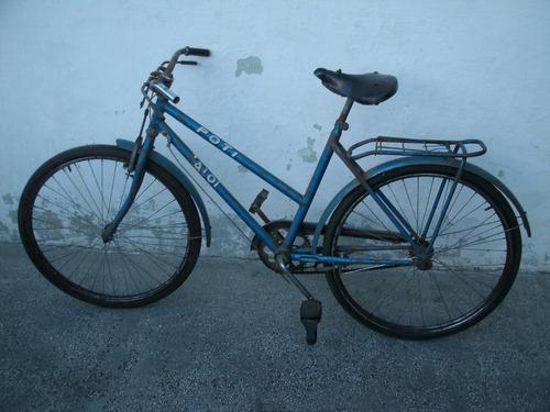 antigua bicicleta freno a varilla