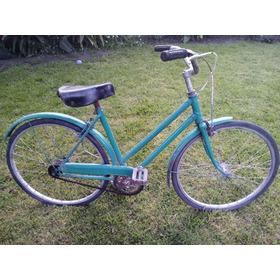 Antigua Bicicleta Niña Tipo Inglesa Rodado 22