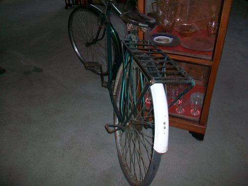 antigua bicicleta panadera en buen estado, puede usarla