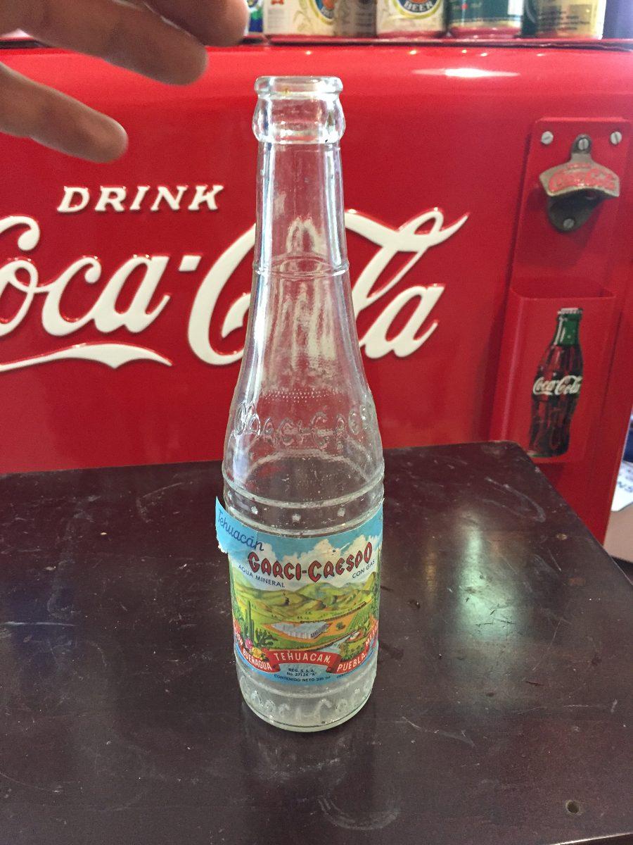 Botella De Agua Antigua Botella Agua G...