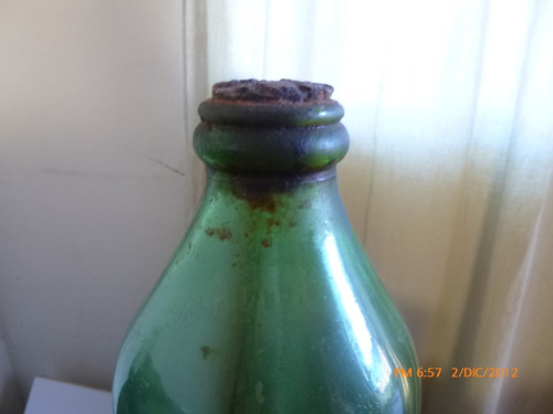 antigua botella de aceite mussi  argentina