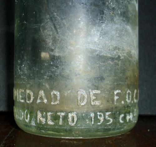 antigua botella de bilz- mirala!!