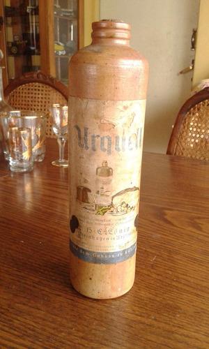 antigua botella de cerveza